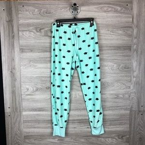 PJ Couture Mint Cats Pajama Pants